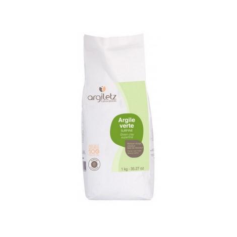 Argiletz Argile verte surfine 1kg Argiletz Soins à l'argile bio Onaturel.fr