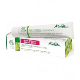 Melvita Duo Dentifrice Haleine pure Arôme de Menthe 2X 75ml Melvita Accueil Onaturel.fr