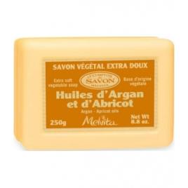 Melvita Savon végétal Huiles d'Argan et Abricot 250g Melvita