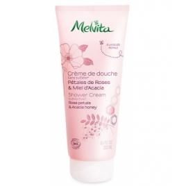 Melvita Crème de douche pétales de roses et miel d'acacia 200ml