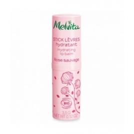 Melvita Stick lèvres hydratant Rose Sauvage 3.5g