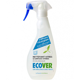 Etiquette manquante Ecosurfactant Nettoyant pour Vitres et Intérieur Ecover 500ml Ecover Accueil Onaturel.fr