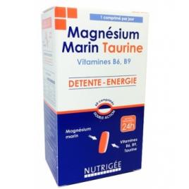 Nutrigee Magnésium Marin Taurine 60 comprimés bicouches