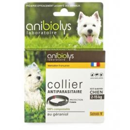 Anibiolys Collier antiparasitaire petit et moyen chien 41cm Anibiolys