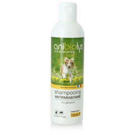 Anibiolys Shampooing antiparasitaire Chien 250ml Anibiolys Antiparasitaire Onaturel.fr