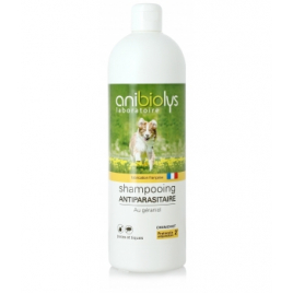 Anibiolys Shampooing antiparasitaire Chien 1L Anibiolys Antiparasitaire Onaturel.fr