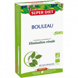 Super Diet Bouleau Bio Drainage Elimination 20 ampoules de 15ml soit 300ml Super Diet Categorie temp Onaturel.fr