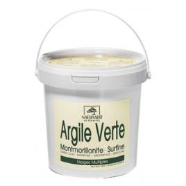 Naturado Argile surfine verte Montmorillonite 1kg Naturado