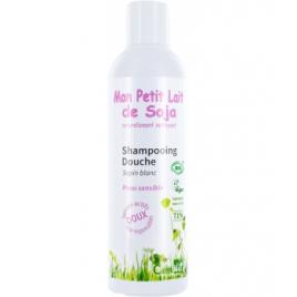 Mon Petit Lait De Soja Gel douche corps et cheveux Peau sensible Sapin blanc 250ml Mon Petit Lait De Soja  Accueil Onaturel.fr