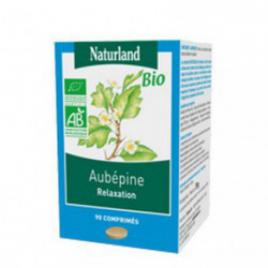 Aubepine Bio comprimés Naturland Naturland Accueil Onaturel.fr