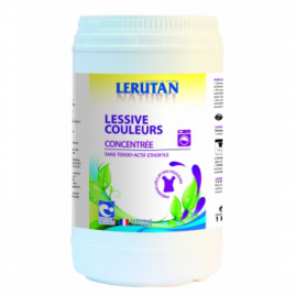 Lerutan Lessive couleurs concentrée poudre Parfum Lavande 1kg