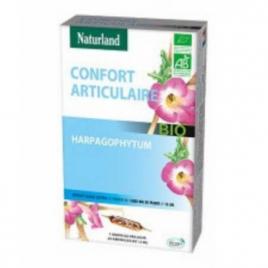 Naturland Harpagophytum Bio 20 ampoules de 15ml Naturland Accueil Onaturel.fr