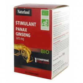 Naturland GINSENG Bio Panax 90 comprimés Naturland Accueil Onaturel.fr
