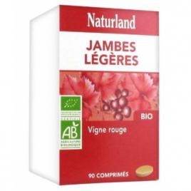 Naturland Vigne rouge Bio 90 COMPRIMES