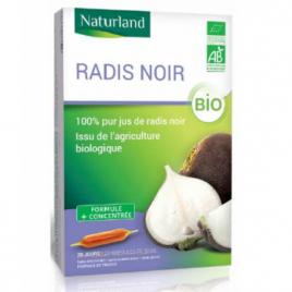 Naturland Radis noir 20 AMPOULES Bio