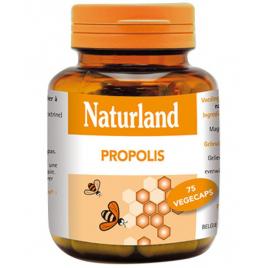 Naturland - Propolis - 75 Végécaps Naturland Accueil Onaturel.fr