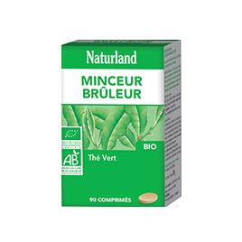 Naturland  Thé Vert Bio  Comprimés Naturland Accueil Onaturel.fr