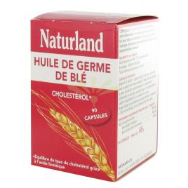 Naturland - Huile de Germe de Blé - 90 Capsules Naturland Accueil Onaturel.fr