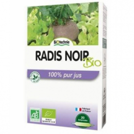 Biotechnie Radis Noir Bio 20 ampoules de 10ml Biotechnie