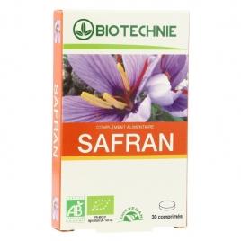 Biotechnie Safran bio 30 comprimés 20mg Biotechnie Anti-stress/Sommeil Onaturel.fr