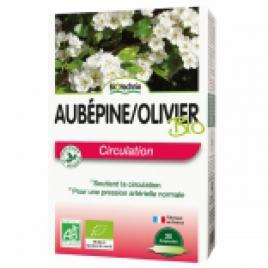Biotechnie Aubépine Olivier bio 20 ampoules de 10ml Biotechnie Immunité Onaturel.fr
