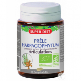 Super Diet Prêle Harpagophytum 80 comprimés Super Diet Categorie temp Onaturel.fr
