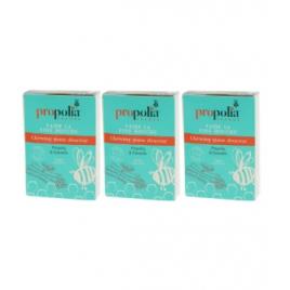 Propolia Chewing Gum Propolis et Cannelle Lot de 3 boîtes de 27 gommes Propolia Accueil Onaturel.fr