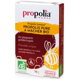 Propolia Propolis pure à mâcher Plaquette de 10gr sous cellophane Propolia