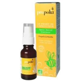 Propolia Spray buccal bio Propolis Menthe Spray verre 20ml