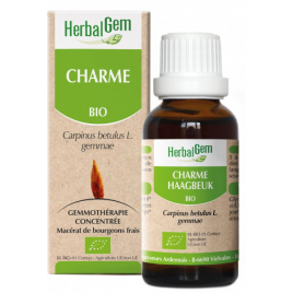 Herbalgem Gemmobase Charme bio Flacon compte gouttes 50ml Herbalgem Gemmobase Accueil Onaturel.fr