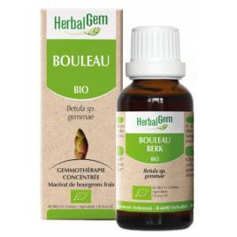 Herbalgem Gemmobase Bouleau bio Flacon compte gouttes 50ml Herbalgem Gemmobase Accueil Onaturel.fr
