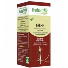 Herbalgem Gemmobase Frêne bio Flacon compte gouttes 50ml Herbalgem Gemmobase Accueil Onaturel.fr