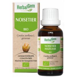 Herbalgem Gemmobase Noisetier bio Flacon compte gouttes 50ml Herbalgem Gemmobase Accueil Onaturel.fr