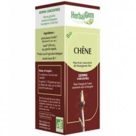 Herbalgem Gemmobase Chêne bio Flacon compte gouttes 50ml Herbalgem Gemmobase Accueil Onaturel.fr