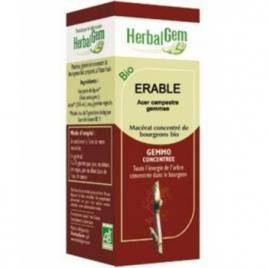 Herbalgem Gemmobase Erable bio Flacon compte gouttes 50ml Herbalgem Gemmobase Accueil Onaturel.fr