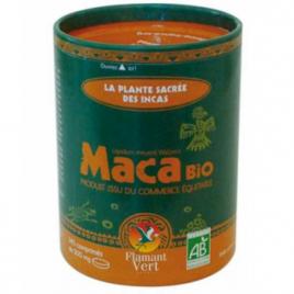 Maca Bio 340 comprimes 500 mg en boite ECOCAN Flamant Vert Flamant Vert Tonus sexuel Onaturel.fr