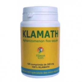 Klamath AFA Flamant vert 120 comprimés de 500 mg Flamant Vert Immunité Onaturel.fr