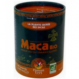 Maca Bio en poudre 150 gr en boite ECOCAN Flamant Vert Flamant Vert Tonus sexuel Onaturel.fr