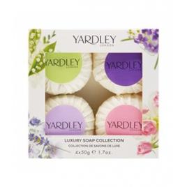 Yardley Coffret 4 Savons 4 x 50g Yardley Accueil Onaturel.fr