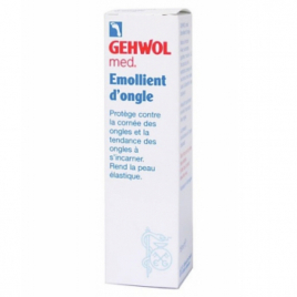 Gehwol Emollient d'ongles Flacon compte gouttes 15ml Gehwol Accueil Onaturel.fr