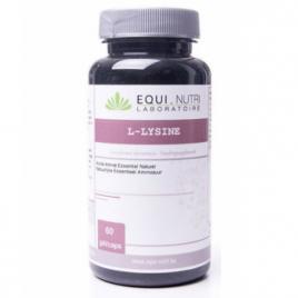 Equi - Nutri L Lysine 500 60 gélules végétales 500mg Equi - Nutri Forme et Vitalité Onaturel.fr