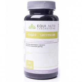 Equi - Nutri Coenzyme Q10 +Lécithine 30 gélules végétales Equi - Nutri Cholestérol Onaturel.fr