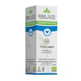 Equi - Nutri Cardiabel Bio Flacon compte gouttes 30ml Equi - Nutri Forme et Vitalité Onaturel.fr