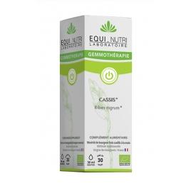 Equi - Nutri Cassis bourgeons bio Flacon compte gouttes 30ml Equi - Nutri Immunité Onaturel.fr