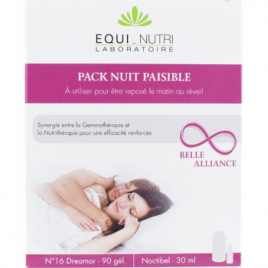 Equi - Nutri Pack Nuit Paisible 60 gélules + Flacon 30ml