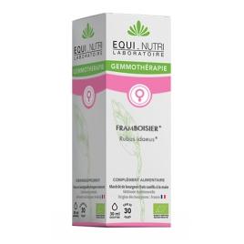 Equi - Nutri Framboisier bio Flacon compte gouttes 30ml Equi - Nutri Compléments Alimentaires Bio Onaturel.fr
