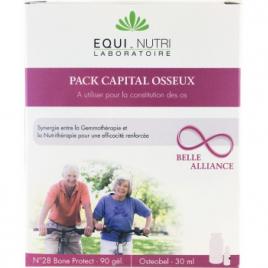 Equi - Nutri Duo Protection Osseuse 90 gélules + Flacon OSTEOBEL30ml Equi - Nutri Compléments Alimentaires Bio Onaturel.fr