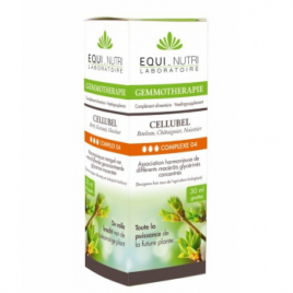 Equi - Nutri Cellubel Bio Flacon compte gouttes 30ml Equi - Nutri Digestion Onaturel.fr