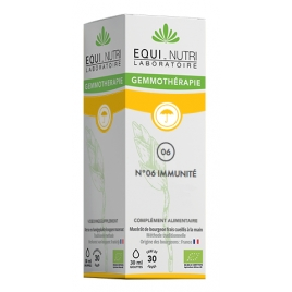 Equi - Nutri Immubel bio Flacon compte gouttes 30ml Equi - Nutri Rhume- Gorge-Bronches- Nez Onaturel.fr