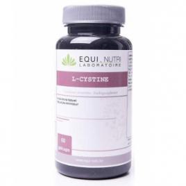 Equi - Nutri L Cystine 500mg 60 gélules végétales Equi - Nutri Forme et Vitalité Onaturel.fr